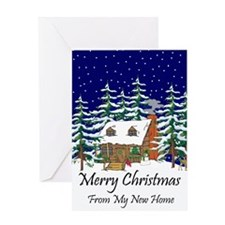 Funny New home address Greeting Card