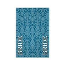 flip_flops_2_bride_07 Rectangle Magnet