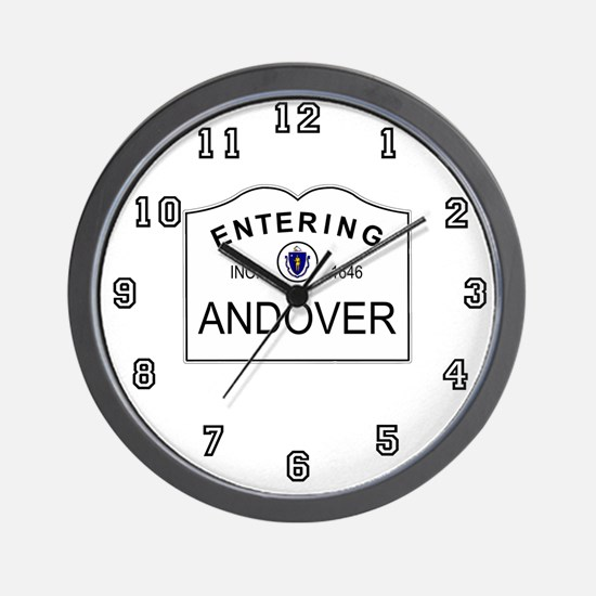 Cool Phillips andover Wall Clock