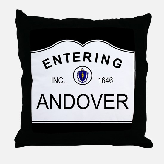 Funny Phillips andover Throw Pillow