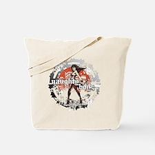 Naughty Boyz Black T Tote Bag