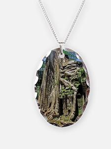 Ta Prohm overgrown temple ruin Necklace