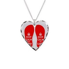 KEEPCALMredFLIPFLOPS Necklace