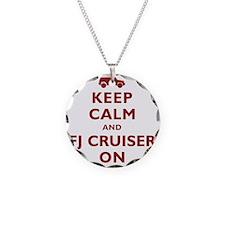 keep-calm-fj Necklace