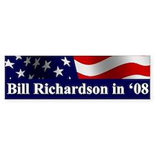Richardson Bumper Car Sticker