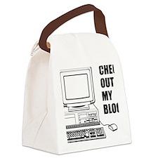 checkoutmyblog Canvas Lunch Bag