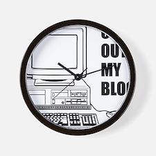 checkoutmyblog Wall Clock