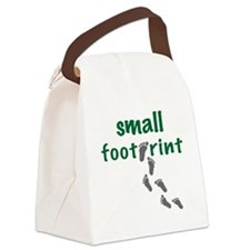 small footprint Canvas Lunch Bag