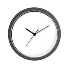 Cooter Records White Wall Clock