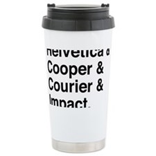 Fourfonts Travel Coffee Mug