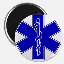 star-of-life-blue Magnet