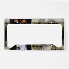 NewYearGoldenEleganceCavalier License Plate Holder