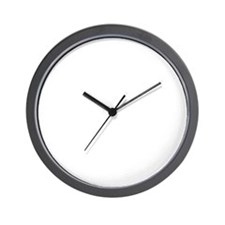 keep-calm-fj-black Wall Clock