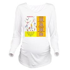 Chipmunk-MOM 3 Long Sleeve Maternity T-Shirt
