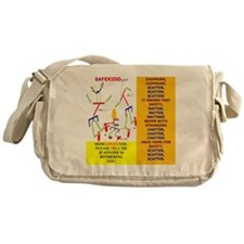 Chipmunk-MOM 3 Messenger Bag