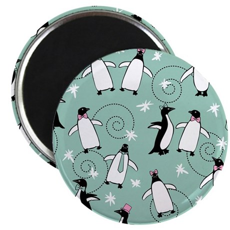 penguin_mouse_green Magnet