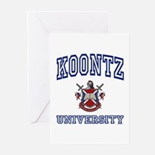 KOONTZ University Greeting Cards (Pk of 10)