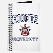 KOONTZ University Journal