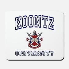 KOONTZ University Mousepad