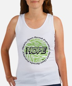 Hope green logo Women's Tank Top