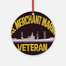 U S MERCHANT NARINE VET Round Ornament