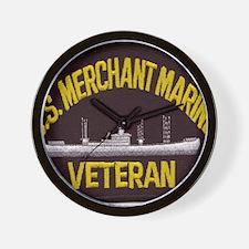 U S MERCHANT NARINE VET Wall Clock