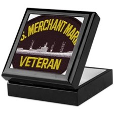 U S MERCHANT NARINE VET Keepsake Box