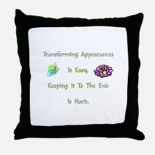 TransformingXXX Throw Pillow