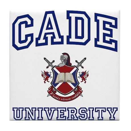 CADE University Tile Coaster