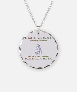 JourneyTowardXXX Necklace Circle Charm