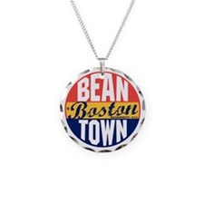 Boston Vintage Label B Necklace