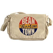 Boston Vintage Label B Messenger Bag