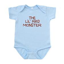 Little Red Monster Infant Bodysuit