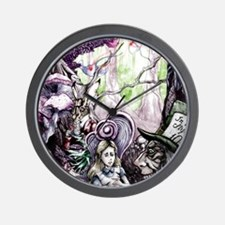 Alice in Wonderland 2 Wall Clock