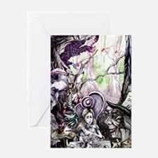 Alice in Wonderland 2 Greeting Card