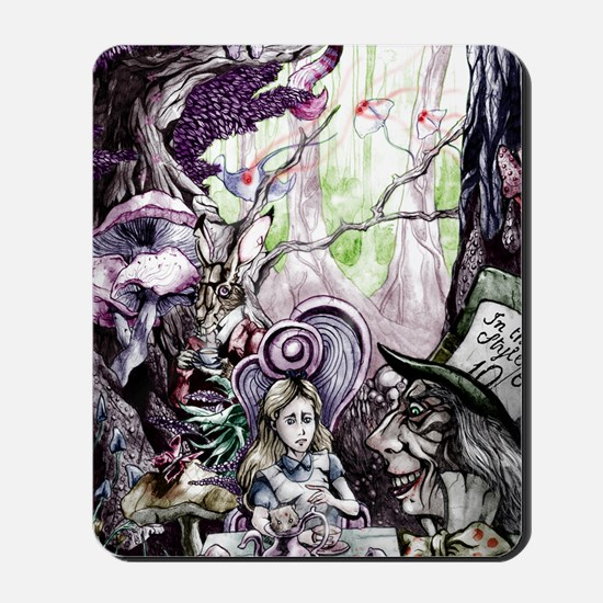 Alice in Wonderland 2 Mousepad