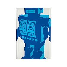Robot Blue Rectangle Magnet
