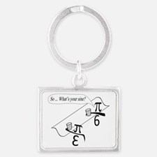 Whats Your Sine Landscape Keychain