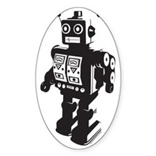 Robot BW Decal