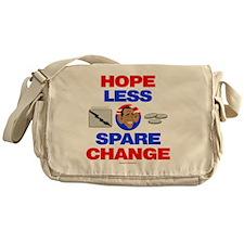 HOPEless Spare CHANGE Messenger Bag