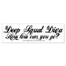 DSD BLACK Bumper Sticker