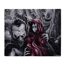 Little Red Riding Hood 2 Throw Blanket