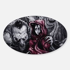 Little Red Riding Hood 2 Decal