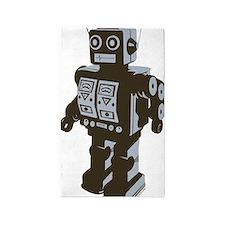 Robot Brown 3'x5' Area Rug