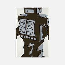 Robot Brown Rectangle Magnet