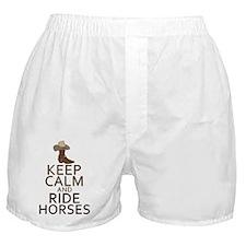 KCridehorses Boxer Shorts