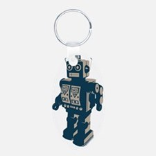 Robot Pacific Keychains