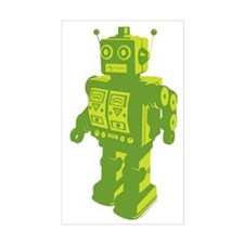Robot Lime Decal