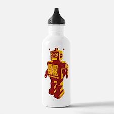 Robot Orange Sports Water Bottle