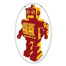Robot Orange Decal